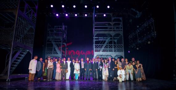 Singapura- The Musical Gala Night with Guest of Honour Minister Tan Chuan Jin (credit: Singapura The Musical)
